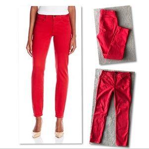 NYDJ Jeans - NYDJ jeans red leggings size 10